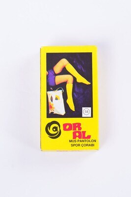 40 Den Mus Koyu Ten Diz Altı Çorap - Thumbnail