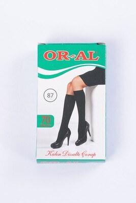 70 Den Kalın Duman Diz Altı Çorap - Thumbnail