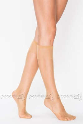Penti Burunlu Diz Altı Çorap - Ten - Thumbnail