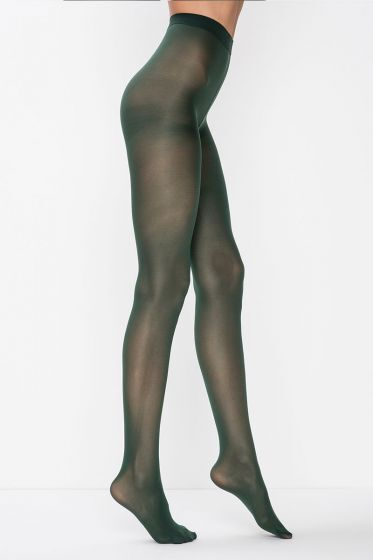 PENTİ - Penti Mat Külotlu Çorap - Yeşil / Green (1)