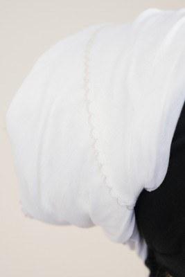 Beyaz İç Başörtüsü - Thumbnail
