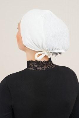 Dikişsiz Model Krem Bone - Thumbnail