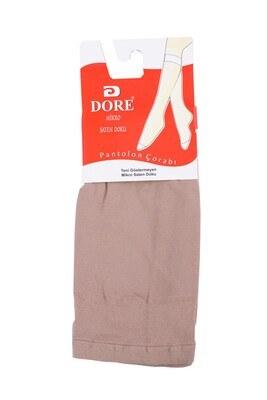 Dore Mikro Saten Ten Diz Altı Çorap - Thumbnail