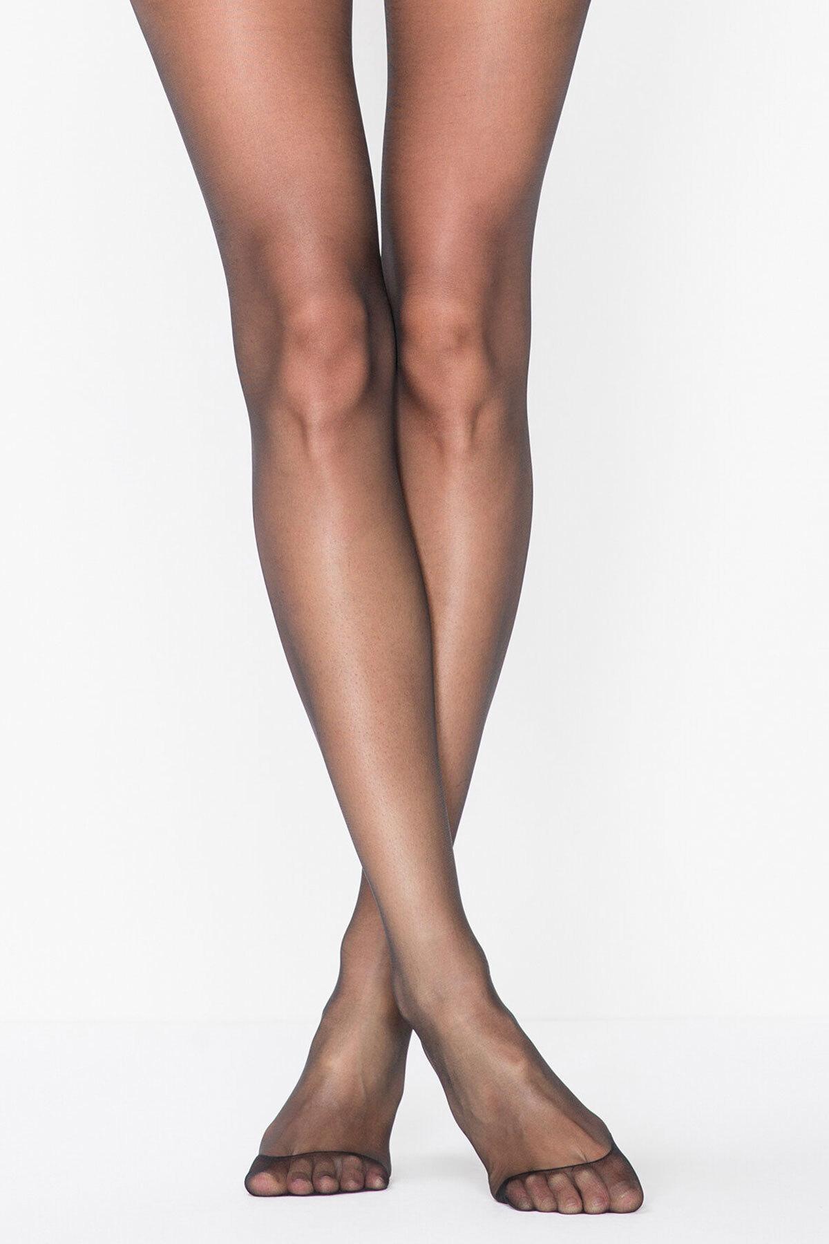 Penti İnce Mat Külotlu Çorap - Siyah