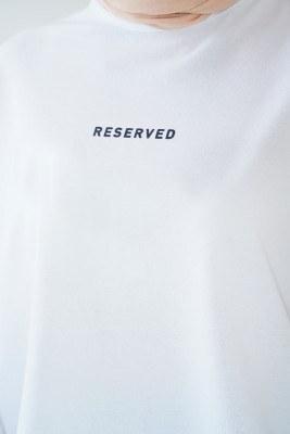 Reserved Serisi Beyaz Tunik - Thumbnail