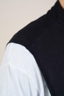 Tesettür Siyah Boyunluk - Thumbnail